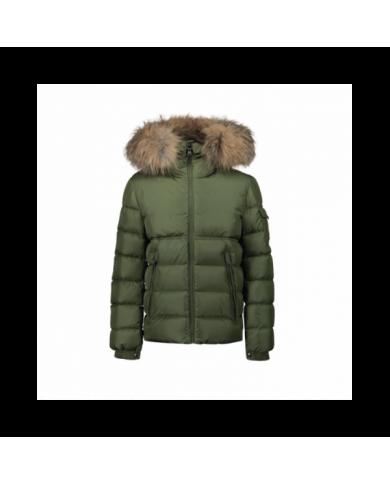 Camicia jeans con logo