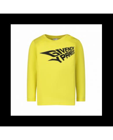 Jeans celeste con logo