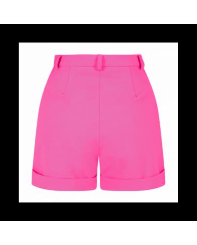 T-shirt con logo oro